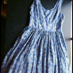 51c9b77e24e5 Charlotte Russe Dresses - Blue floral summer dress