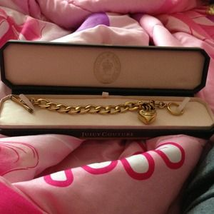 Juicy couture starter charm bracelet.