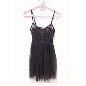 Poof Couture Dresses & Skirts - Lingerie Lace and Tulle Dress
