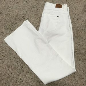 Old Navy Denim - Old Navy Low Waist White Boot Cut Stretch Jeans