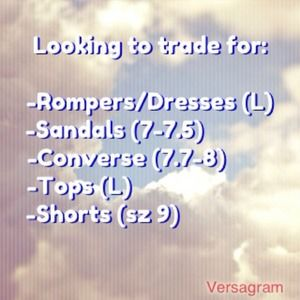 Dresses & Skirts - This is what I'm looking for to trade.