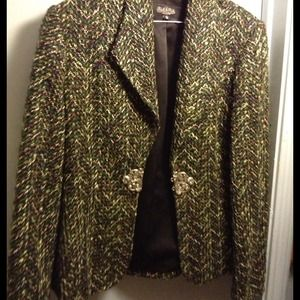 ITEM#289 tweed jacket