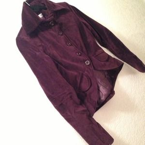 Royal Bordeaux or Plum Blazer