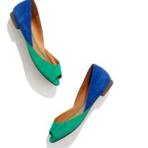 Madewell colorblock flats shoes ❤Sale day!