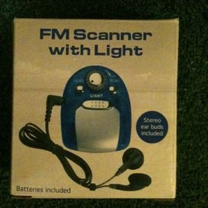 Other - FM scanner, Brand new,