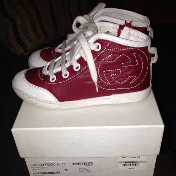 gucci kids shoes. SOLD❗ ❗ Gucci Kids Sneakers Shoes