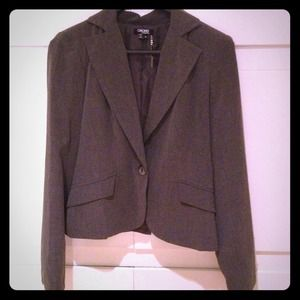XOXO Grey Blazer