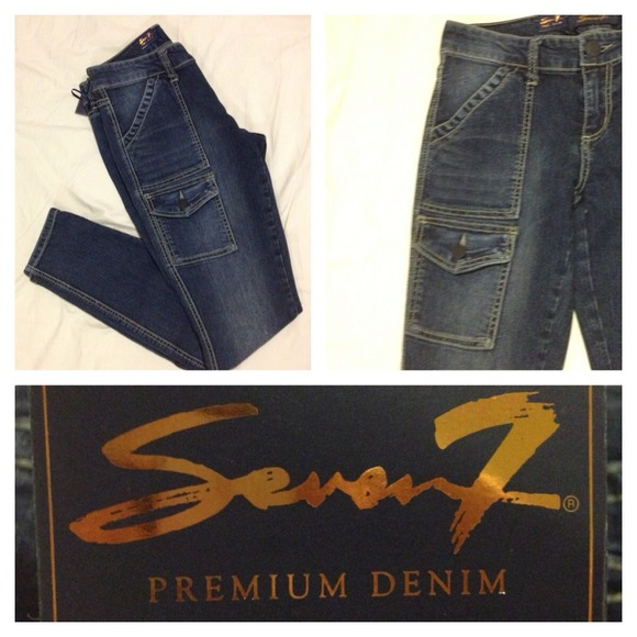 Seven Jeans - 💥Priced 2 Sell💥Seven7 Jeans Skinny Cargo Size 4 ...