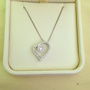 Jared Jewelry Heart Necklace Poshmark
