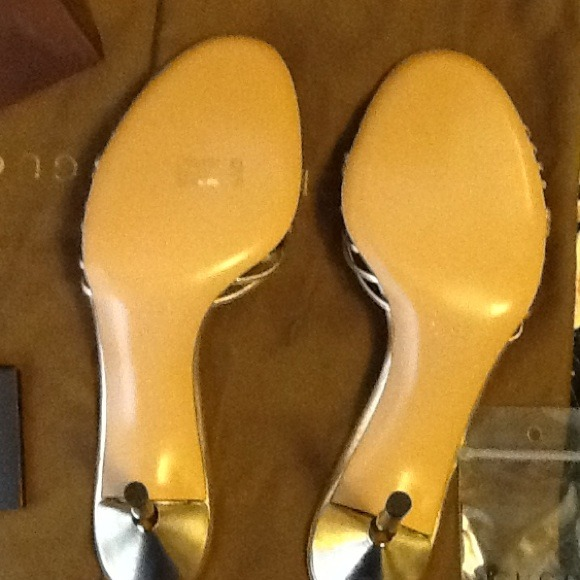 13 off gucci shoes authentic gold gucci heels from