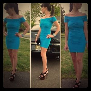 Dresses & Skirts - Textured Bodycon Dress