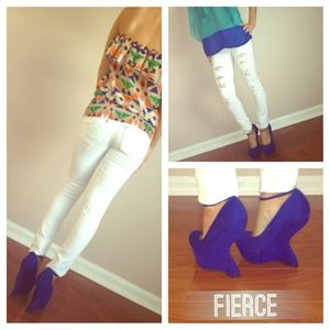 Steve Madden Shoes - 🎉SALE TODAY! Steve Madden Blue Gravity Wedges