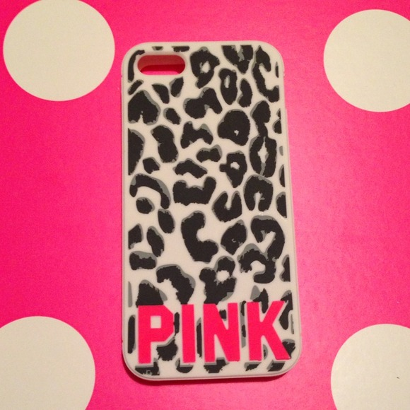half off 5ca28 73de4 VICTORIA SECRET PINK CHEETAH IPHONE 5 case NEW