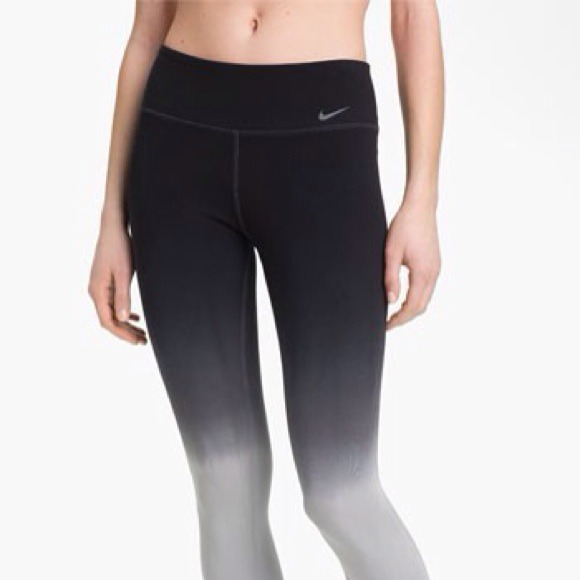 46% off Nike Pants - Nike ombré Capri leggings from Closet's ...