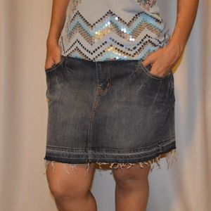 Jeans skirt❤️50%off
