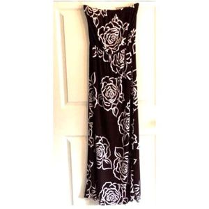 69% off Dresses & Skirts - Long tan skirt large from Laura's ...