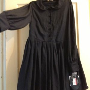 Super cute black dress sz9