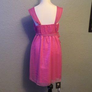 Dresses - BNWT Rose appliqué dress.