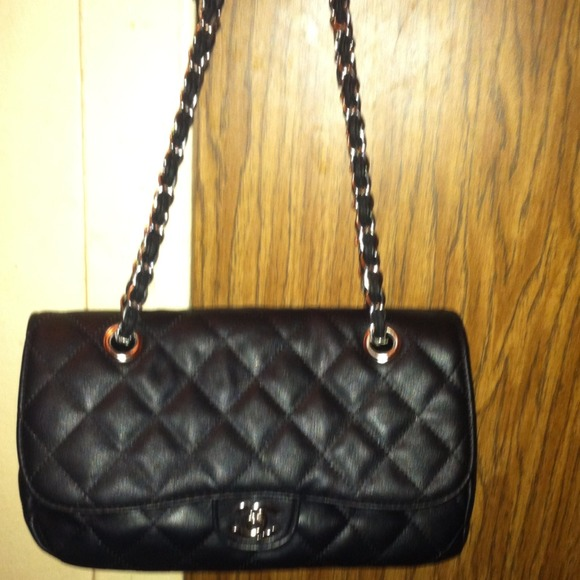 chanel inspired bags. chanel inspired black quilted bag bags