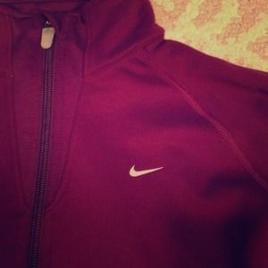 Nike zip up fleece jacket