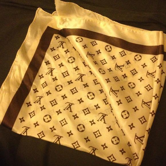 Louis Vuitton Accessories Lv Handkerchief Poshmark