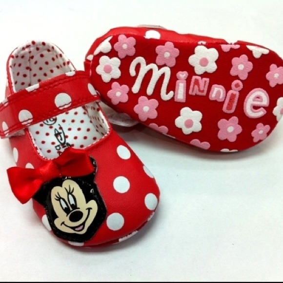 Shoes | Minnie Mouse Baby Shoes | Poshmark