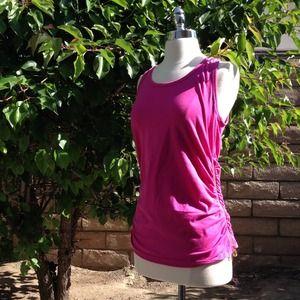 Michael Kors Ultra Pink Sleeveless Top