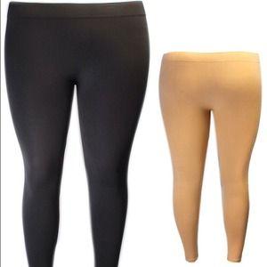 Pants - Grey plus size leggings