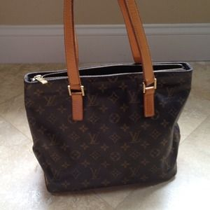 Authentic Louis Vuitton Cabas Piano Bag