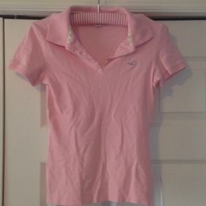 Classic Polo in Light Pink