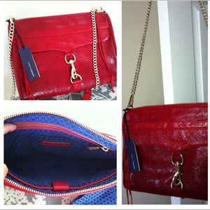 Rebecca Minkoff MAC Daddy Red NWT and gorgeous!