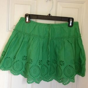 Xhilaration eyelet skirt