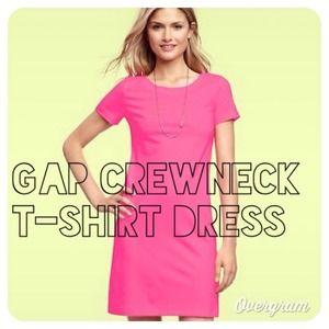 ✨Reduced✨Gap Crewneck shirt dress