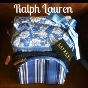 HOST PICK 9/4NWT Ralph Lauren 3pc Travel Set