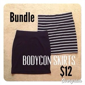 ✨Bundle✨ Two Bodycon skirts