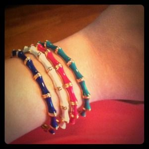 PINK and GREEN Bangle Bundle