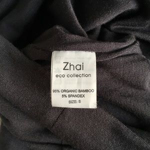Zhai Skirts - Gray Organic Bodycon Jersey Skirt ⭐ NWOT ♻️