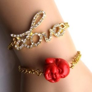 Jewelry - Laughing Red Buddha Bracelet