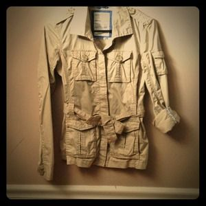Military Jacket Aeropostale Size: Extra Small