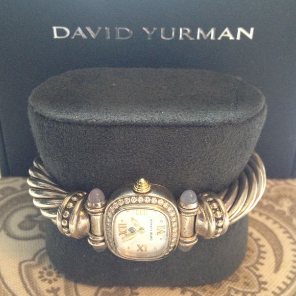 david yurman accessories authentic david yurman diamond cable watch