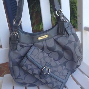 😃hold😃Coach handbag and wallet