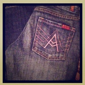 HOLD 7 for all mankind A pocket jeans! HOLD