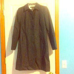 Knee Length Trench Coat