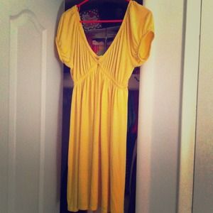 Yellow Dress Sz L