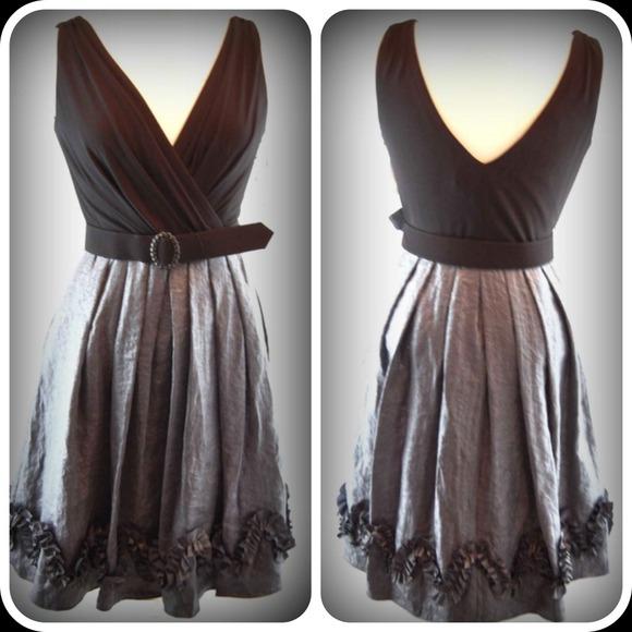 dress barn dresses new exquisite black silver dress poshmarkm_51c4d08882fe06220e02bba5