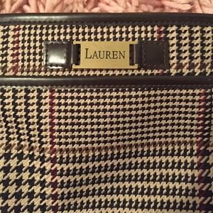 574bb6c9fb Ralph Lauren Bags - ralph lauren houndstooth vintage cross body bag