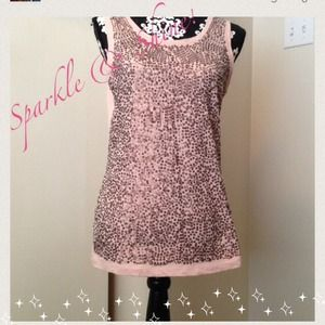 Tops - Nwt Sequin Tank