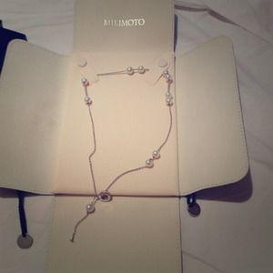 "mikimoto Jewelry - Mikimoto AUTHENTIC brand new ""Akoya necklace"""