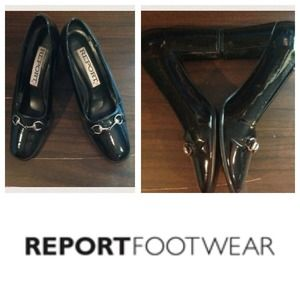 ⏰ SALE Patent  Leather Shoes by Report Sz 7.5