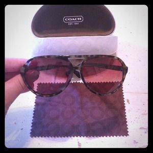 Coach tortoise sunglasses BRAND NEW